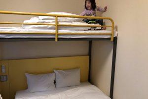 2段ベットのあるホテル、佐賀県チサンイン鳥栖に宿泊しました!