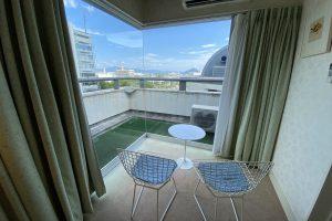 「ホテル広島サンプラザ」でスイートルームに宿泊しました