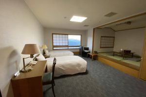バリアフリールームは育児にも最適「いこいの村ひろしま」でホテルステイ